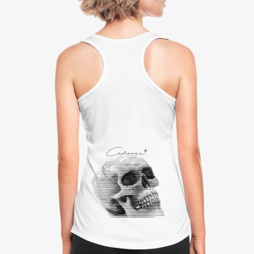 CadaverSkull - Camiseta de tirantes transpirable mujer