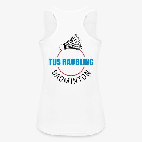 TuS Raubling Badminton Trikot Rückseite - Frauen Tank Top atmungsaktiv