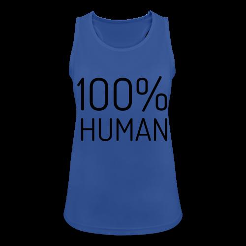 100% Human - Vrouwen tanktop ademend