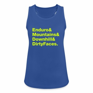 Mountainbike Neon - Frauen Tank Top atmungsaktiv