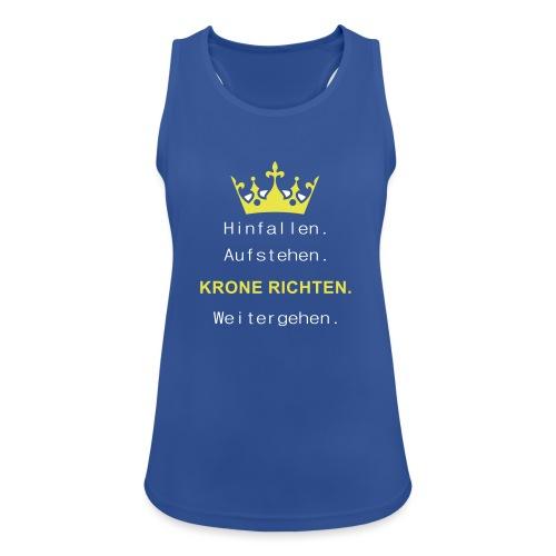 Krone Richten - Frauen Tank Top atmungsaktiv