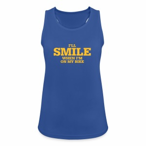i will smile - Frauen Tank Top atmungsaktiv