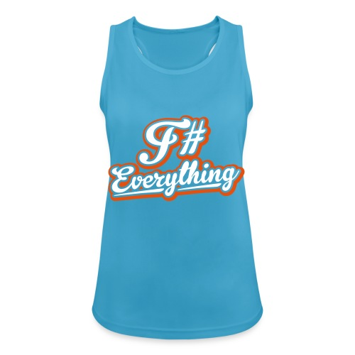 F# Everything - Women's Breathable Tank Top