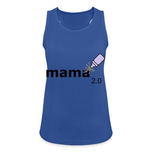 Mama_2-0 - Frauen Tank Top atmungsaktiv