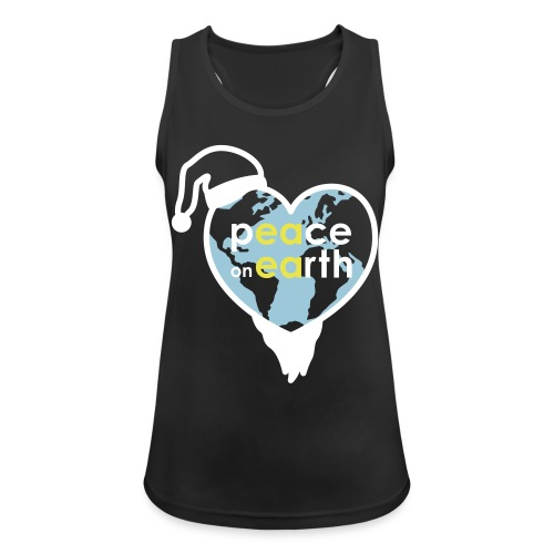 MR Peace on Earth - Vrouwen tanktop ademend actief