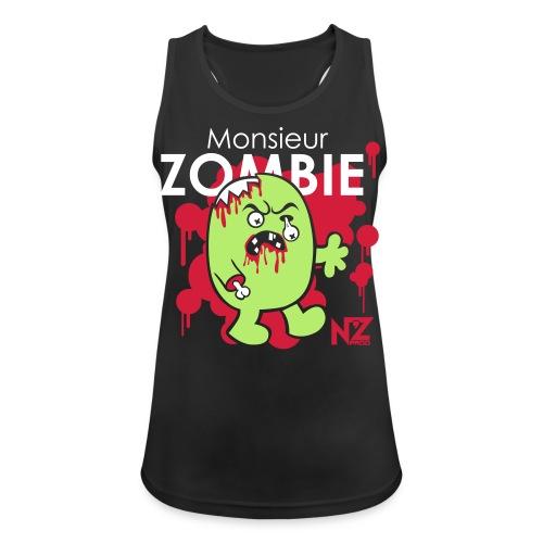mr zombie - Débardeur respirant Femme