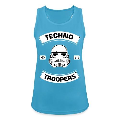 techno troopers - Frauen Tank Top atmungsaktiv