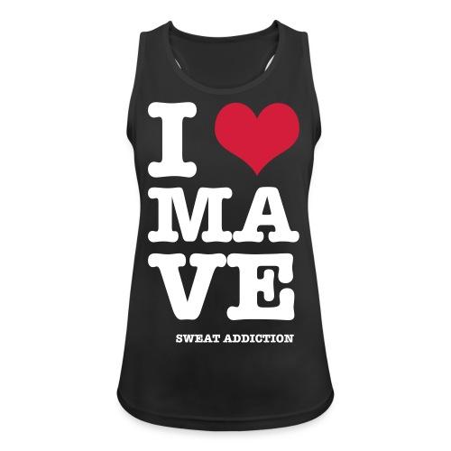 I Love Mave - Naisten tekninen tankkitoppi