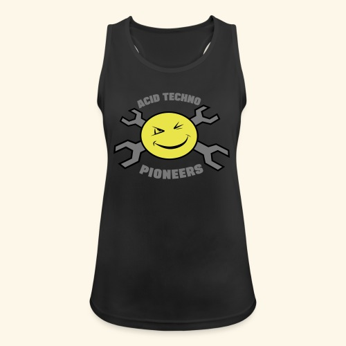 ACID TECHNO PIONEERS - SILVER EDITION - Women's Breathable Tank Top