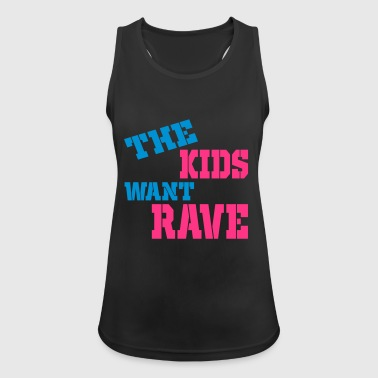 rave - Women's Breathable Tank Top