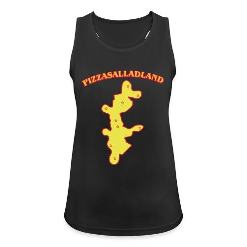 Pizzasalladland - Andningsaktiv tanktopp dam