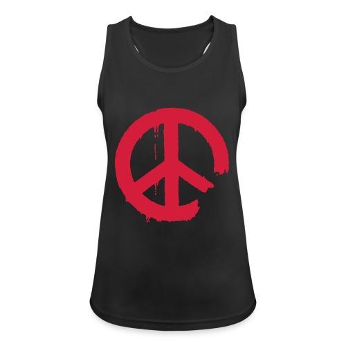 PEACE - Frauen Tank Top atmungsaktiv