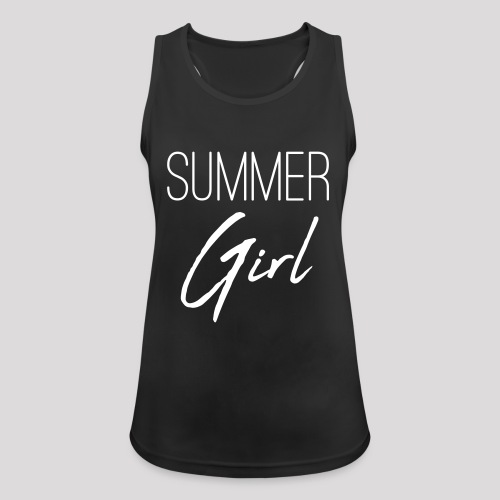Summer Girl - Das Motiv für den Sommer - Frauen Tank Top atmungsaktiv