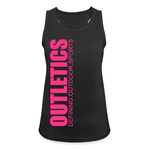 outletics pinkie - Frauen Tank Top atmungsaktiv