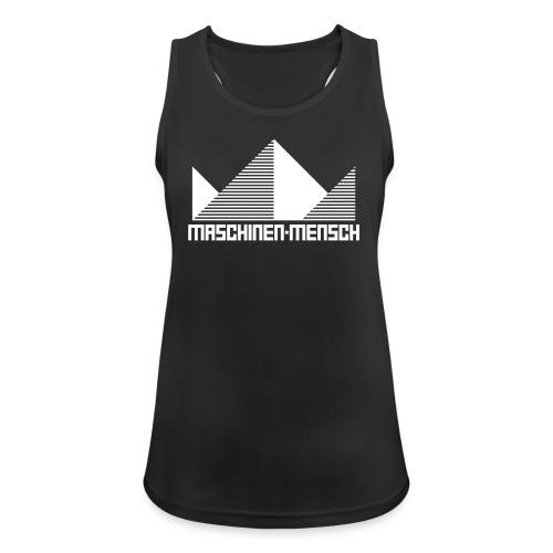 Maschinen-Mensch Logo black - Frauen Tank Top atmungsaktiv