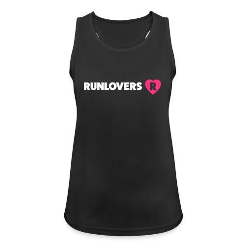 Runlovers cuore v2 - Top da donna traspirante
