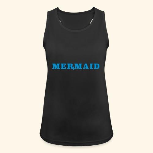 Mermaid logo - Andningsaktiv tanktopp dam