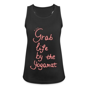 Grab Life By The Yogamat Simple - Women's Breathable Tank Top