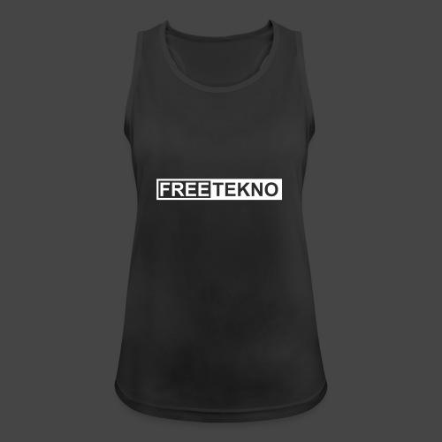 freetekno - Débardeur respirant Femme