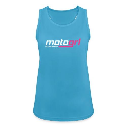 MotoGrl Streetwear - Naisten tekninen tankkitoppi