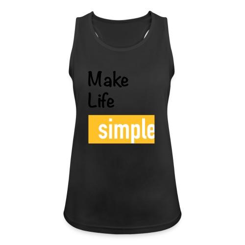 Make Life Simple - Débardeur respirant Femme