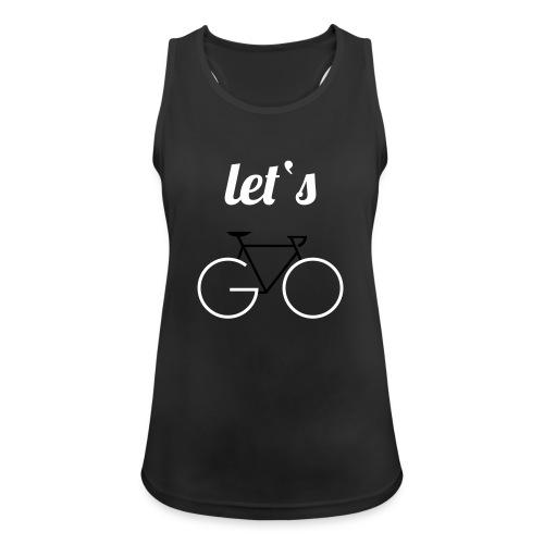 Let's GO - Frauen Tank Top atmungsaktiv