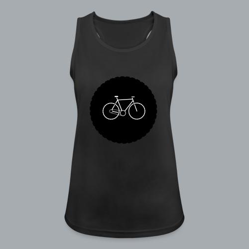 Bike Circle Vector - Frauen Tank Top atmungsaktiv