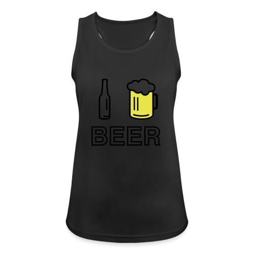 I Love Beer (2-farbig) - Frauen Tank Top atmungsaktiv