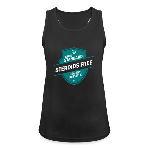 GoldStd-SteroidsFree-33 - Women's Breathable Tank Top