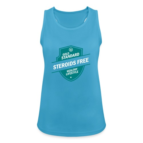 GoldStd-SteroidsFree-33 - Women's Breathable Tank Top