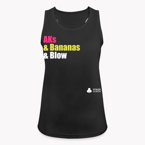 AKs & Bananas & Blow - Frauen Tank Top atmungsaktiv