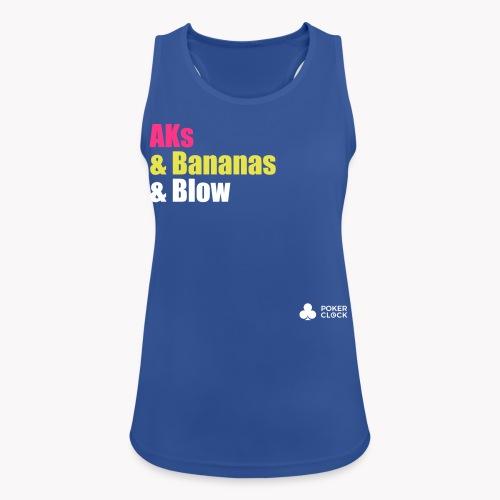 AKs & Bananas & Blow - Frauen Tank Top atmungsaktiv