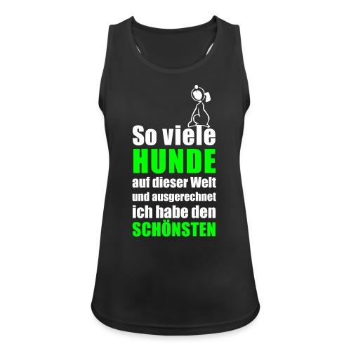 Vorschau: Der schönste HUND - Frauen Tank Top atmungsaktiv