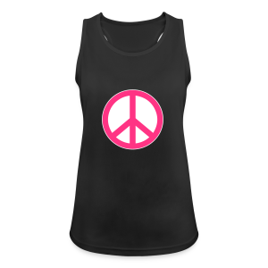 Peace, Love and Happiness - Vrouwen tanktop ademend