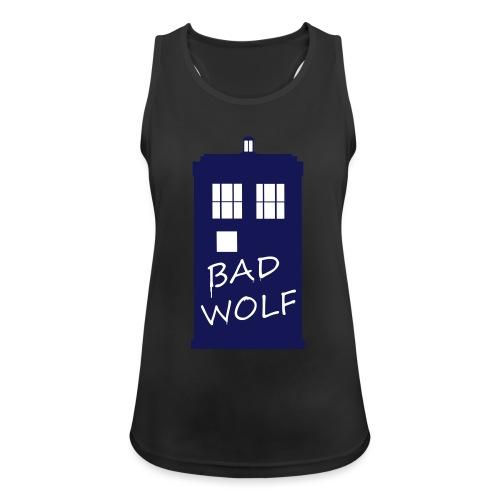 Bad Wolf Tardis - Débardeur respirant Femme