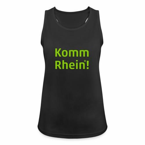 Komm Rhein - Frauen Tank Top atmungsaktiv