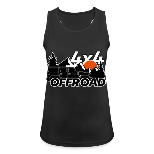 Offroad 4x4 Jeep Logo - Frauen Tank Top atmungsaktiv