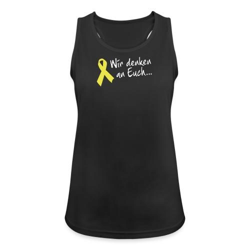wir denken an euch 20121107mod - Frauen Tank Top atmungsaktiv