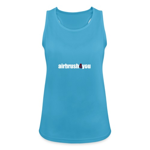 Airbrush - Frauen Tank Top atmungsaktiv