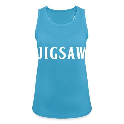 JigSaw White - Women's Breathable Tank Top
