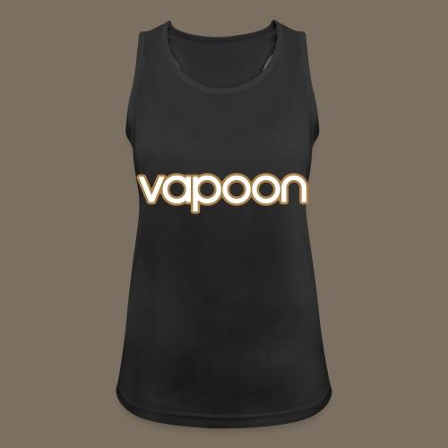 Vapoon Logo simpel 2 Farb - Frauen Tank Top atmungsaktiv
