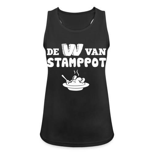 De W van Stamppot - Vrouwen tanktop ademend actief