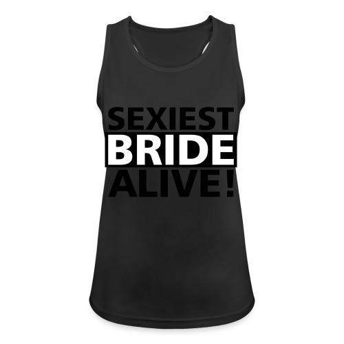 sexiest bride alive - Frauen Tank Top atmungsaktiv