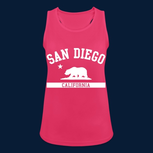 San Diego - Frauen Tank Top atmungsaktiv