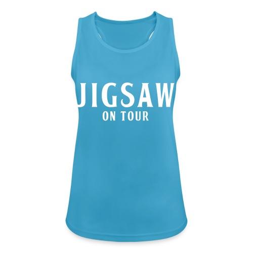 JigSaw On Tour White - Women's Breathable Tank Top