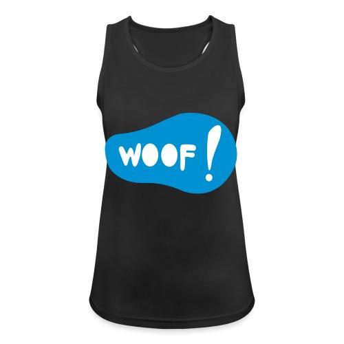 Woof! T-Shirt - Frauen Tank Top atmungsaktiv