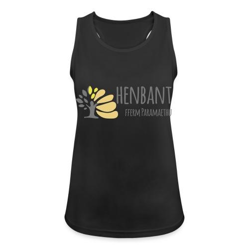 henbant logo - Women's Breathable Tank Top