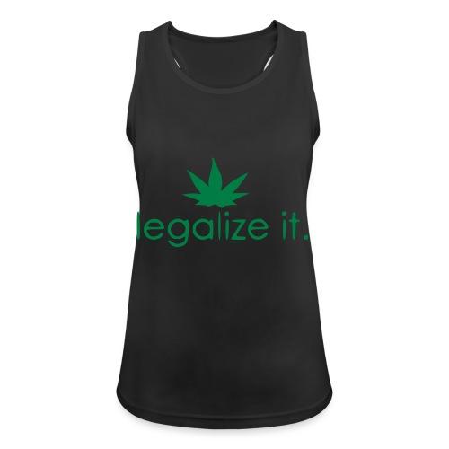 LEGALIZE IT! - Women's Breathable Tank Top