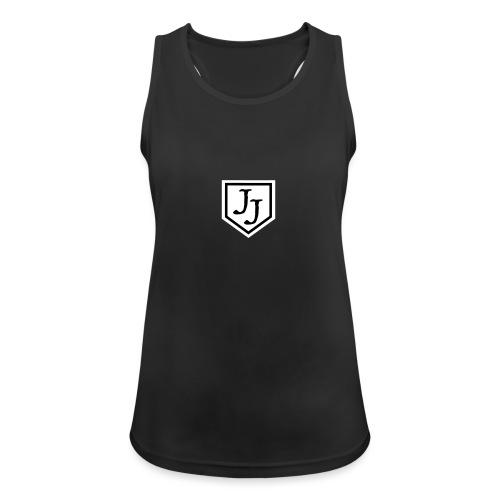 JJ logga - Andningsaktiv tanktopp dam