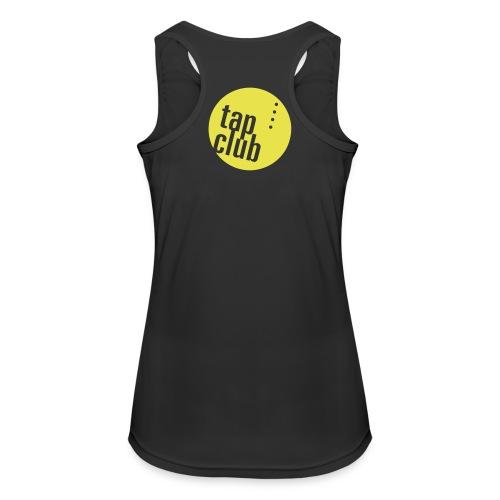 tap club logo - Frauen Tank Top atmungsaktiv